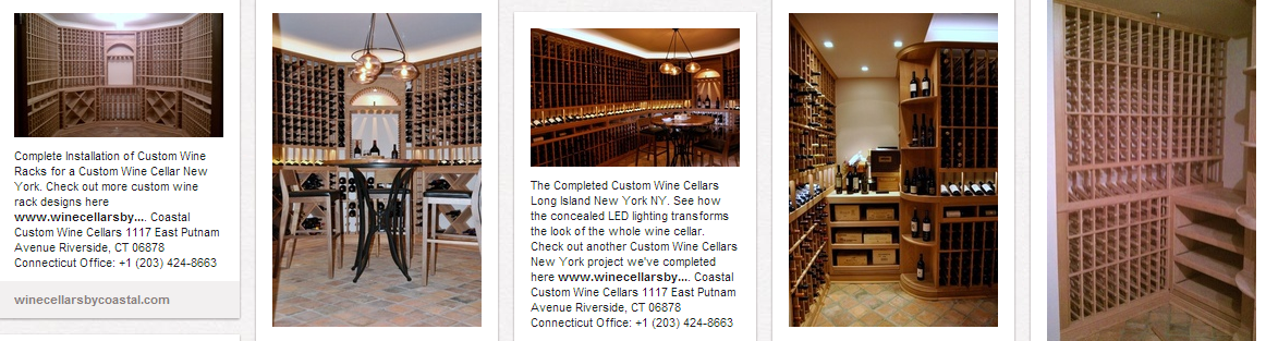 Contact Coastal Custom Wine Cellars New Jersey to start your own wine cellar project!
