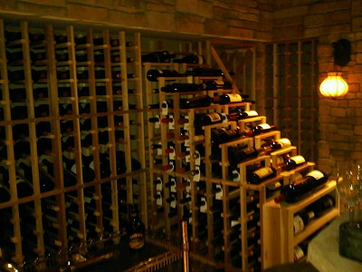 Click here to watch a video of the wine cellar design!