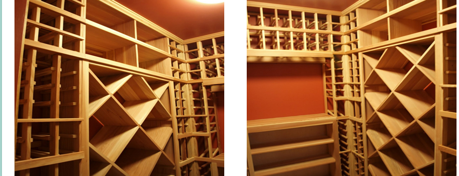 Premium Redwood Wine Racks South Salem