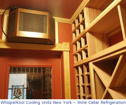 WhisperKool Wine Cellar Cooling Unit New York South Salem