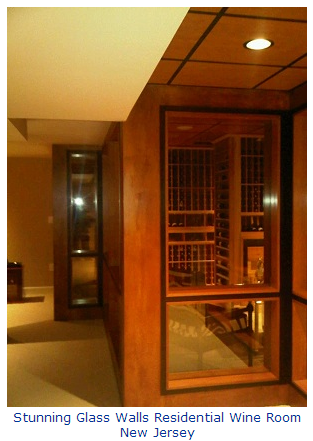 Wine Storage Racks and Wine Cellar Doors New Jersey